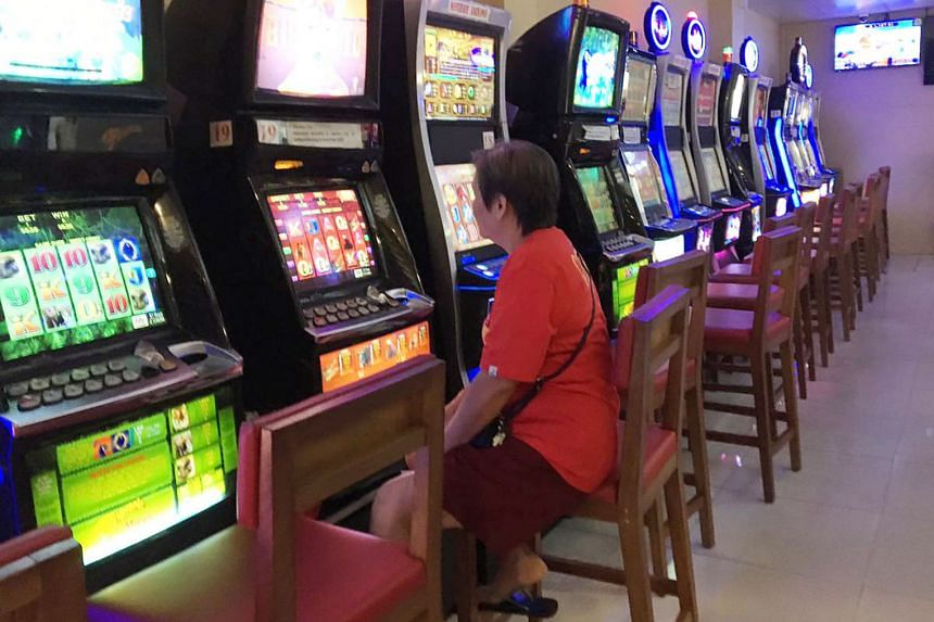 Jackpot machines at former S-League team Gombak, who have been told to stop such operations by April. Others will have to rely less on them.