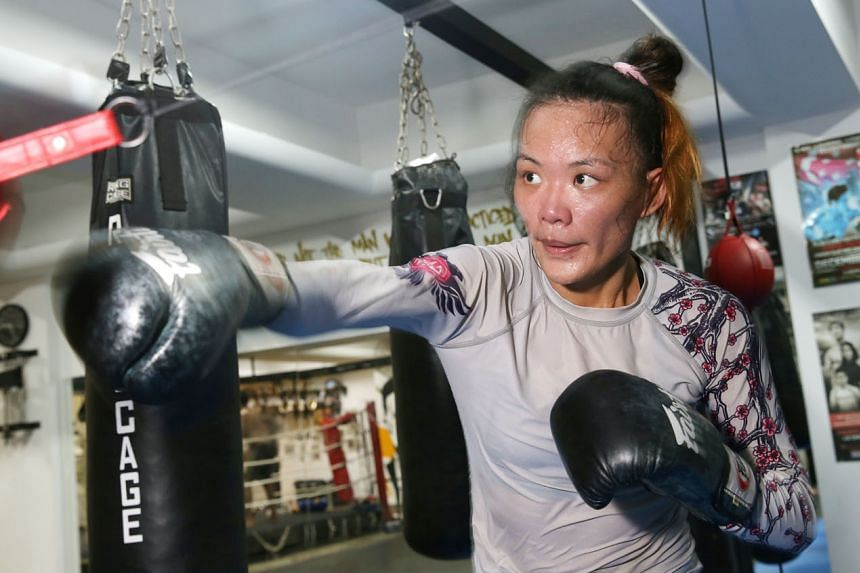While Tiffany Teo is aware of the fight's significance, she says she is very confident and will give it her all.