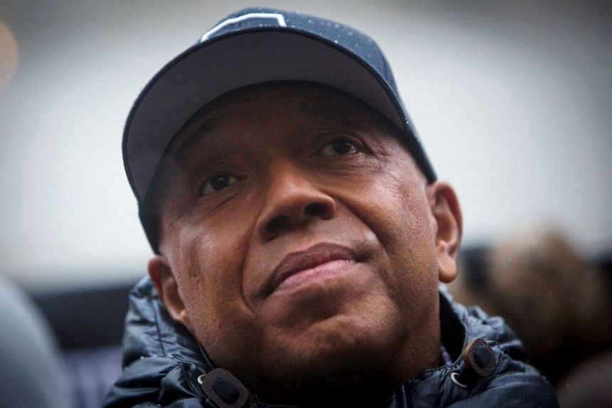 Rap mogul Russell Simmons (above, in 2014) used the hashtag #NotMe to deny the claims.