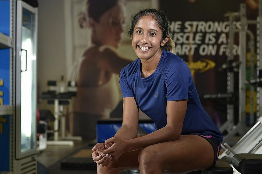 National sprinter Shanti Pereira said the training environment at the IMG Academy in Florida, and her training partners, will be conducive for her quest to qualify for the 2020 Tokyo Olympics.