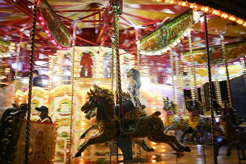 The Prudential Marina Bay Carnival, which is on from today to April 1, is being held at the Promontory and Bayfront event space.