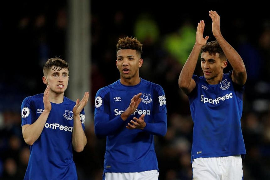 Everton's Jonjoe Kenny, Mason Holgate and Dominic Calvert-Lewin have all signed new long-term contracts.