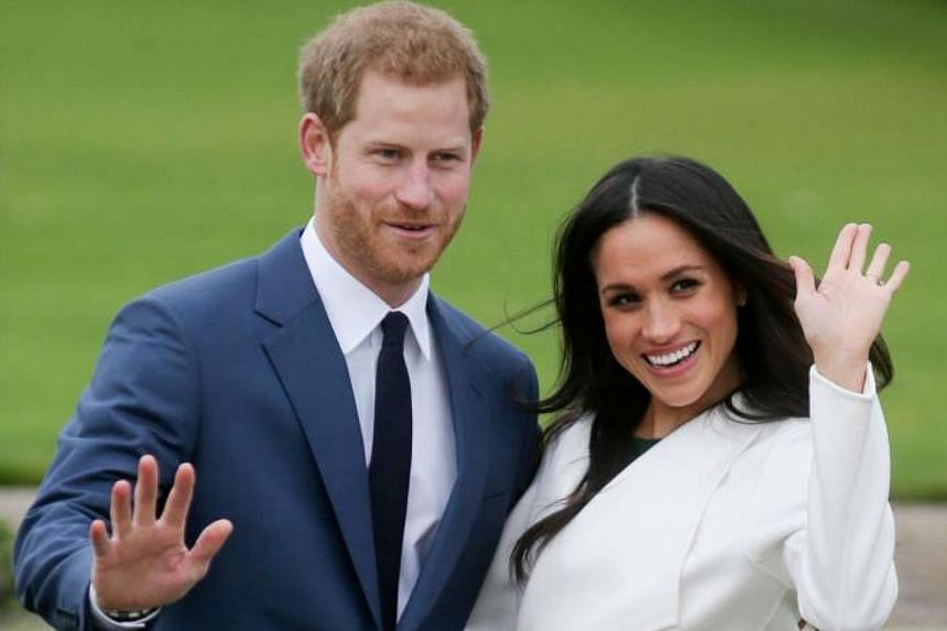 Britain's Prince Harry and his fiancee, US actress Meghan Markle announced their engagement on Nov 27, 2017.