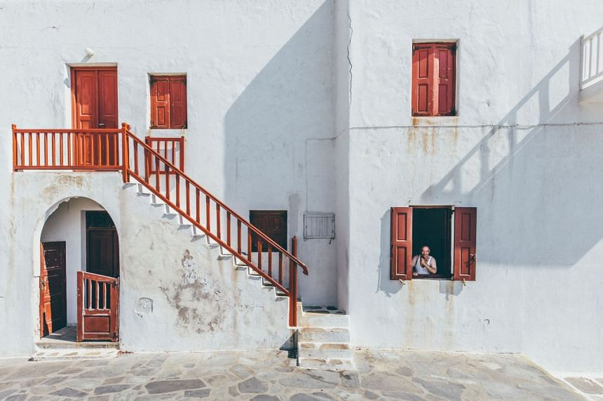 A photo taken in Greece, which Mr Jeryl Tan considers his favourite photograph.
