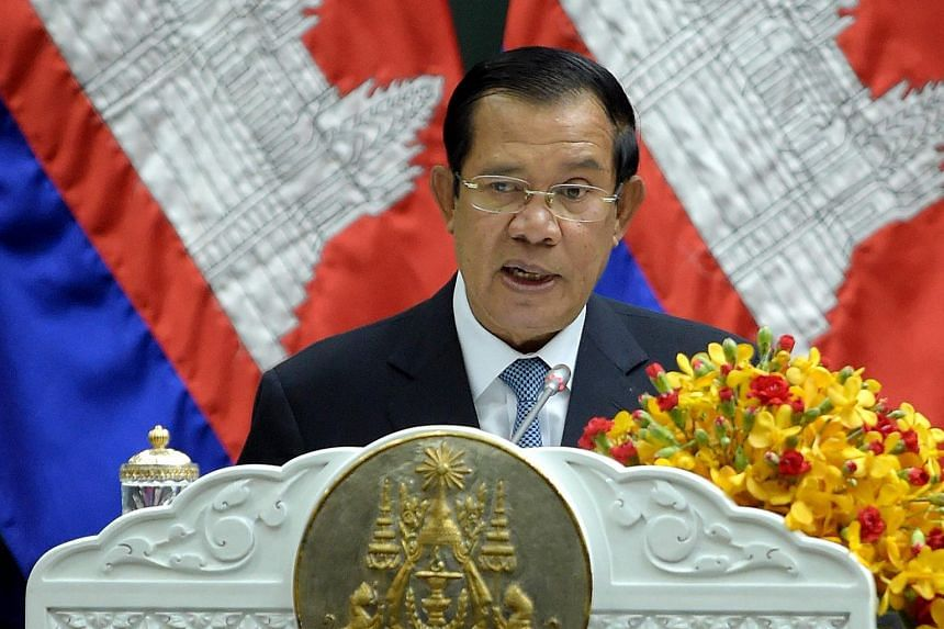 Cambodian Prime Minister Hun Sen said he has no money abroad and any actions by the EU and the US would not hurt him.
