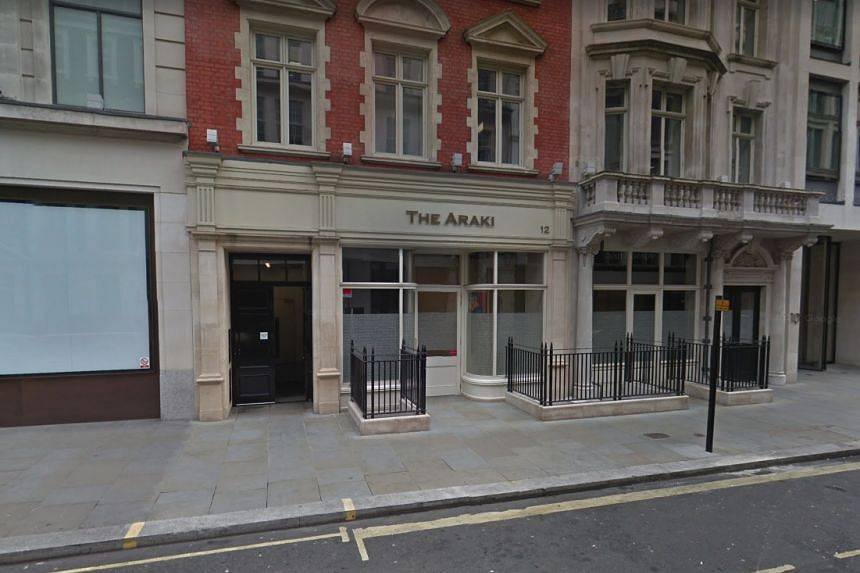 The Araki, a sushi restaurant in Mayfair with three Michelin stars, topped the Harden's Best UK Restaurants guide.