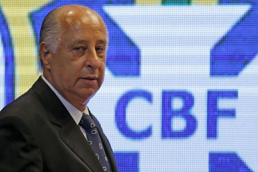 Del Nero (above) is the latest prominent South American official to be banned by the sport's governing body as part of its investigation into a vast corruption scandal.