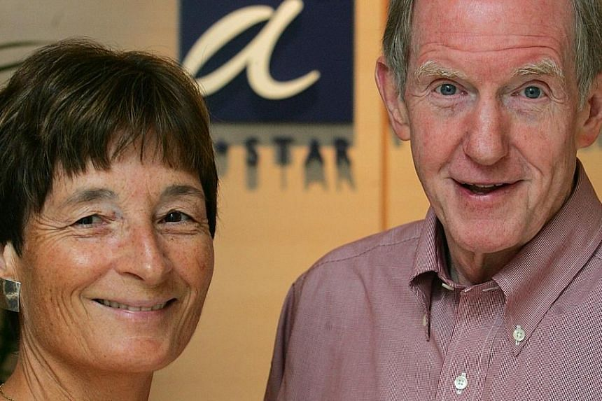 Dr Judith Swain and Dr Edward Holmes