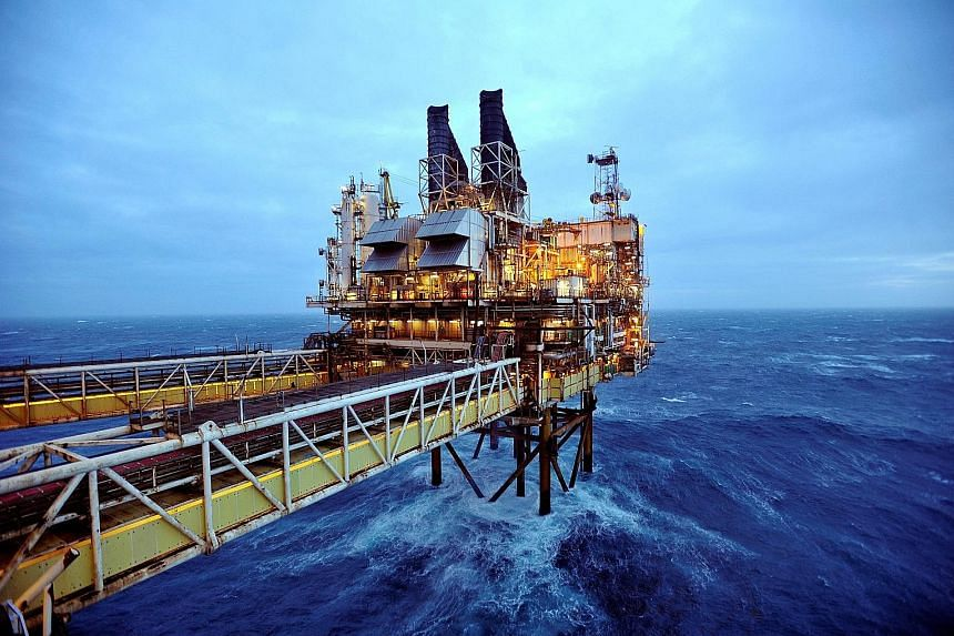 BP's Eastern Trough Area Project oil platform. The British oil producer has been shifting away from fossil fuels to renewable technologies.
