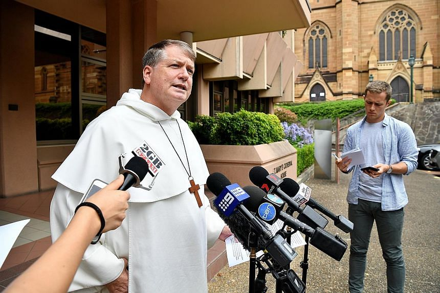 """Sydney Archbishop Anthony Fisher yesterday said he was """"appalled by the sinful and criminal activity of some clergy, religious and lay workers (and) ashamed of the failure to respond by some church leaders""""."""