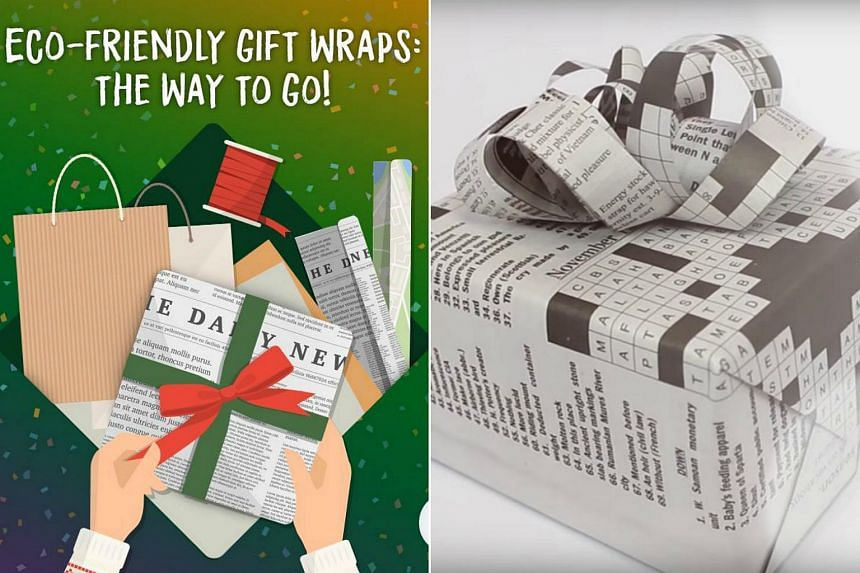 In a Facebook post, NEA urged the public to opt for eco-friendly gift wrap alternatives by reusing paper bags, newspaper or fabric.
