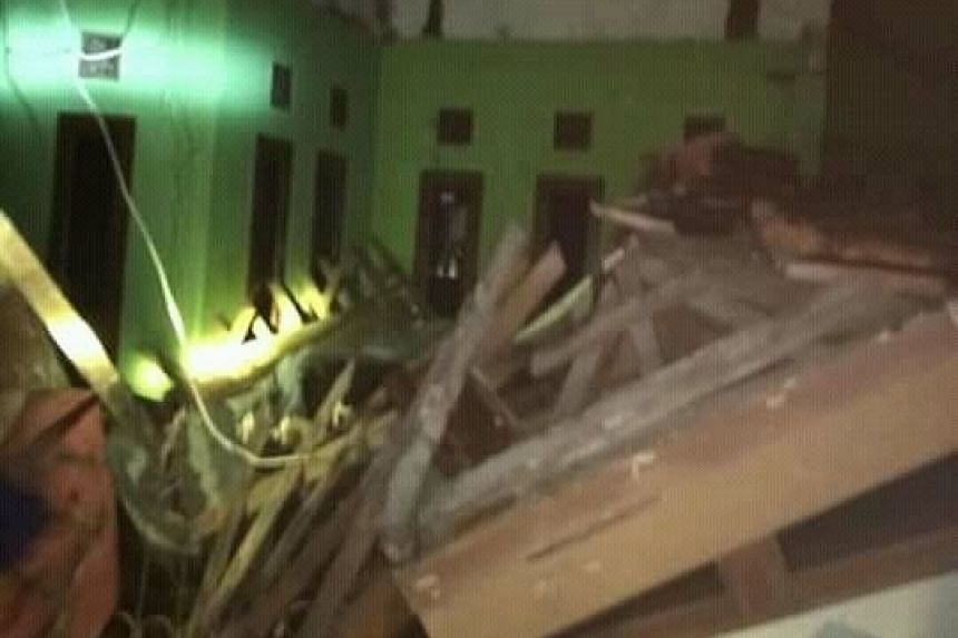 An earthquake with a magnitude of 6.5 which struck the island of Java in Indonesia damages more than a hundred houses and several public buldings. Tasikmalaya, Pangandaran and Ciamis are the most affected regions due to closest proximity.