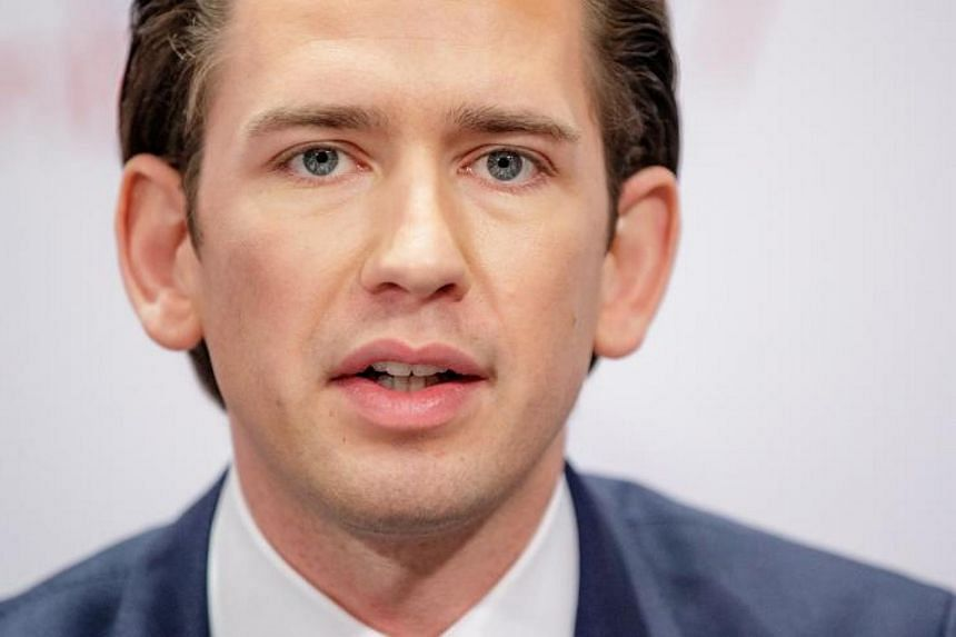 Mr Sebastian Kurz, Austria's Minister of Foreign Affairs and Chairperson of the OSCE exchange, at the 24th OSCE Ministerial Council, on Dec 8.