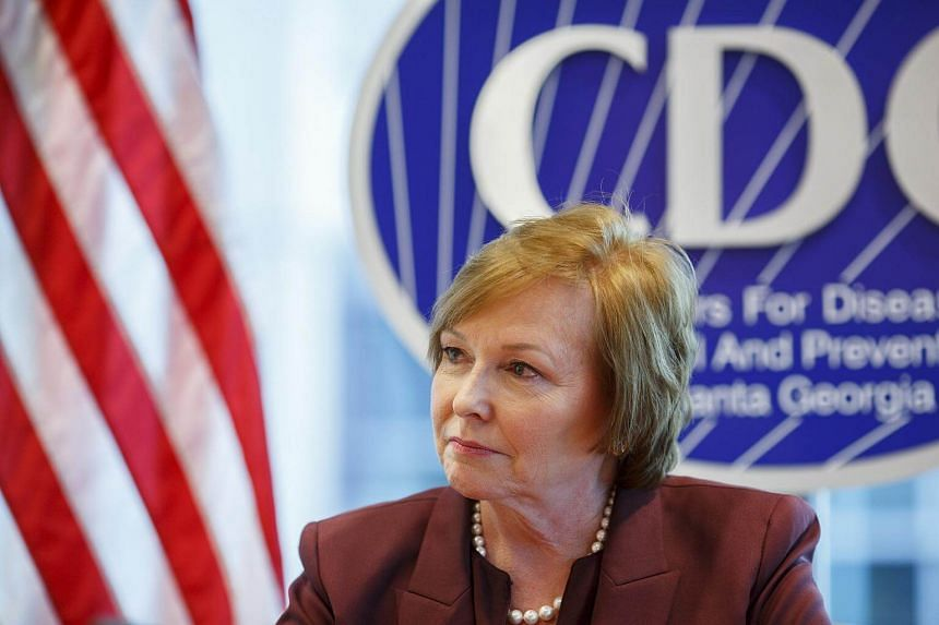 Brenda Fitzgerald, director of the Centers for Disease Control and Prevention, at agency headquarters in Atlanta, on Dec 5, 2017.