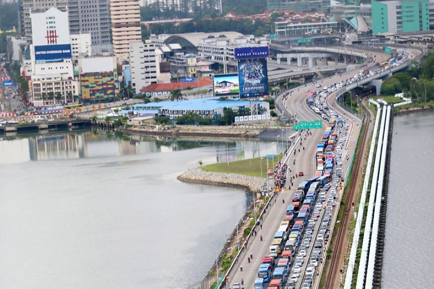 It was announced in October that all foreign-registered vehicles entering Malaysia will have to pay for a RM25 (S$8.06) VEP to prevent car theft and other related crimes.