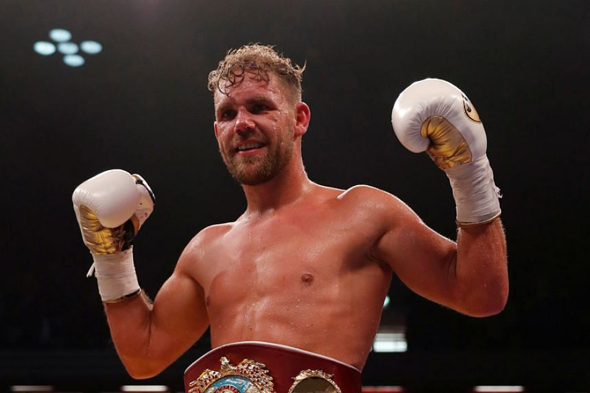 Unbeaten Billy Joe Saunders (above) holds the only world title in his weight class that is not in the hands of four-belt champion Gennady Golovkin.