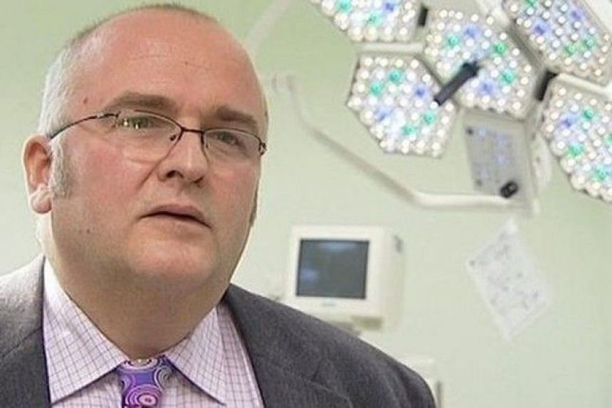 Surgeon Simon Bramhall gained fame in 2010 after transplanting a plane-crash victim's liver into a patient.