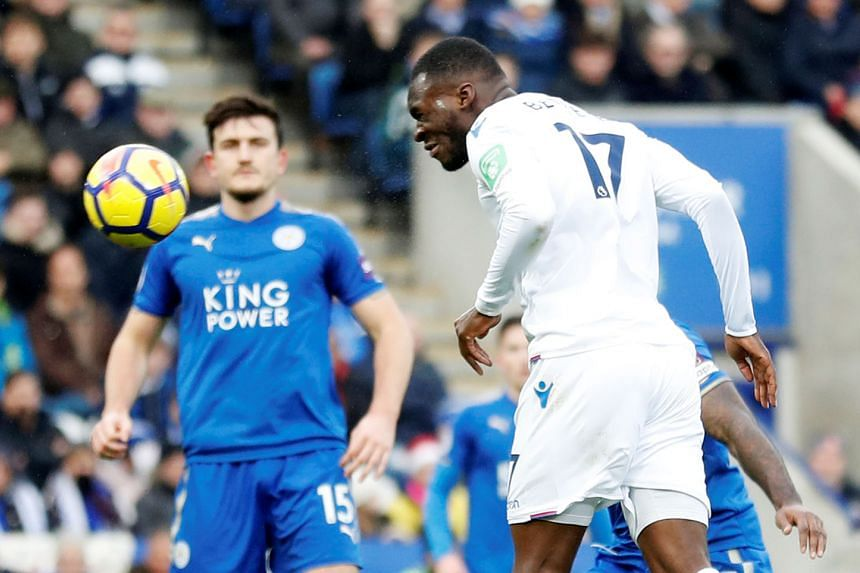 Christian Benteke ending his 14-match drought by opening the scoring with Crystal Palace's first away goal this season. They won 3-0.
