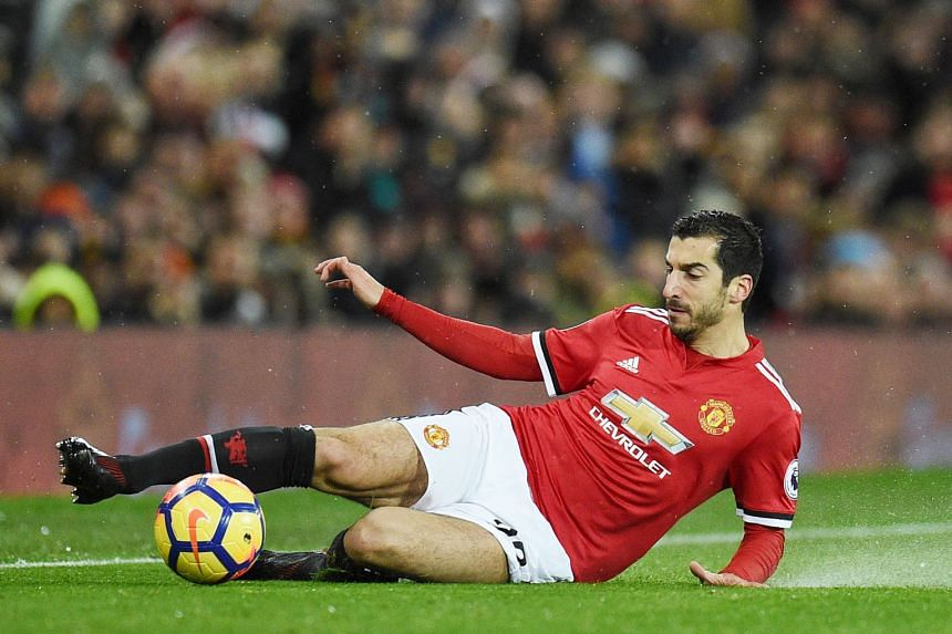 Midfielder Henrikh Mkhitaryan could be on the way out of United in the January transfer window. He has not started a game since the loss at Chelsea on Nov 5 and has been left out of the last four match-day squads.