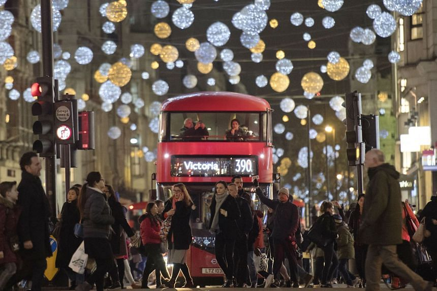 The dazzling Christmas lights and festive shop windows in Oxford Street, central London, are well known, and attract thousands of locals and tourists alike.