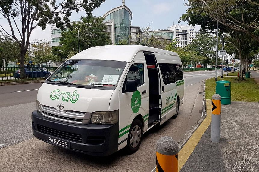 GrabShuttle Plus is available between 6am and 10pm and has helped reduce overall travelling time for its users by as much as 10 per cent.