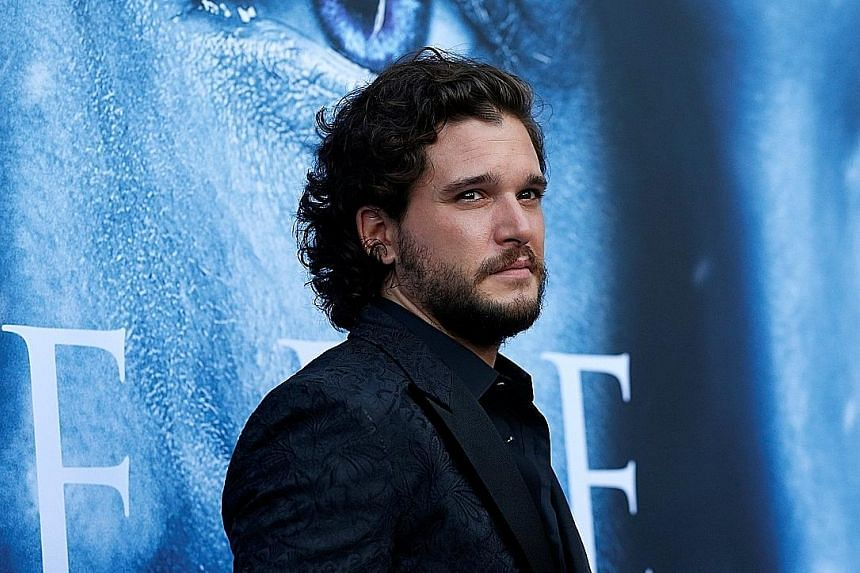 In the historical thriller Gunpowder, actor Kit Harington (left) plays Robert Catesby, the mastermind of a 1605 plot to blow up the House of Lords in London.