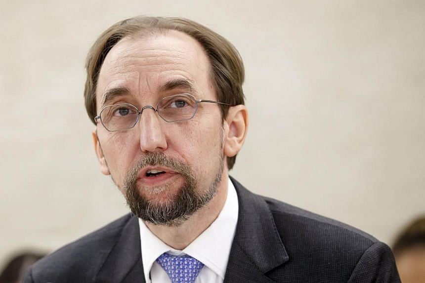 UN High Commissioner for Human Rights Zeid Ra'ad al-Hussein told the BBC that he had asked Myanmar's leader Aung San Suu Kyi to do more to stop the military action.