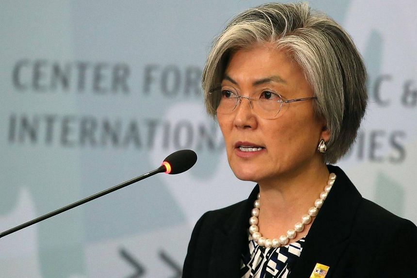 Ms Kang Kyung Wha will make her first trip to Japan as South Korea's top diplomat on Dec 19, 2017.