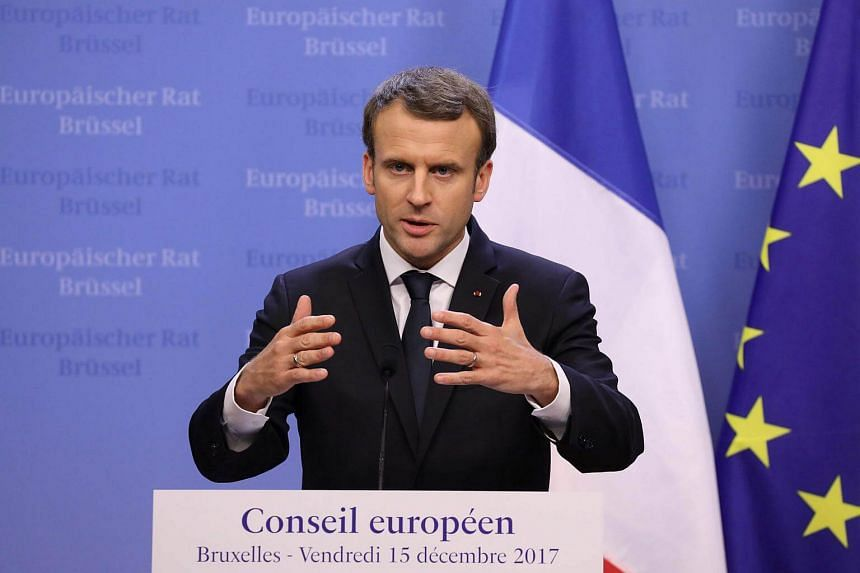 """Nuclear is not bad for carbon emissions, it's even the most carbon-free way to produce electricity with renewables,"" Macron said."