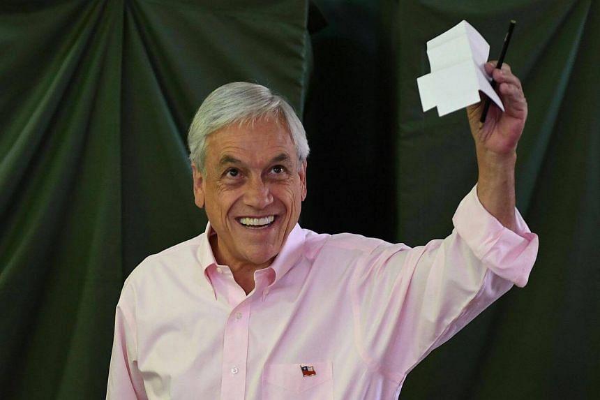 Billionaire conservative Sebastian Pinera won Chile's presidency on Dec 17, 2017.