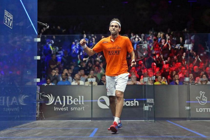 Mohamed El Shorbagy twice had to fend off brilliant comebacks from his 24-year-old brother Marwan in their 'home' final to win 11-5 9-11 11-7 9-11 11-6.