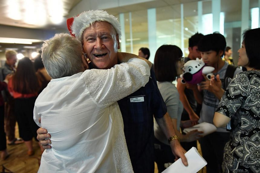 80-year-old Max Leathan from Australia won perfumes and cosmetics.