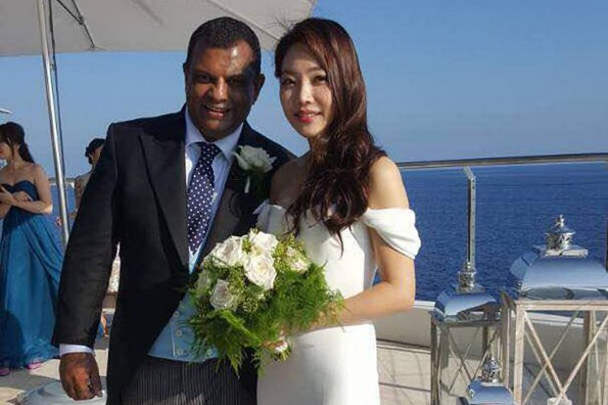 To make it easier for people to fly with AirAsia, Mr Fernandes hopes to use data and technology to improve its reliability and on-time performance. Mr Tony Fernandes married his South Korean girlfriend of more than two years, Chloe, at a ceremony att