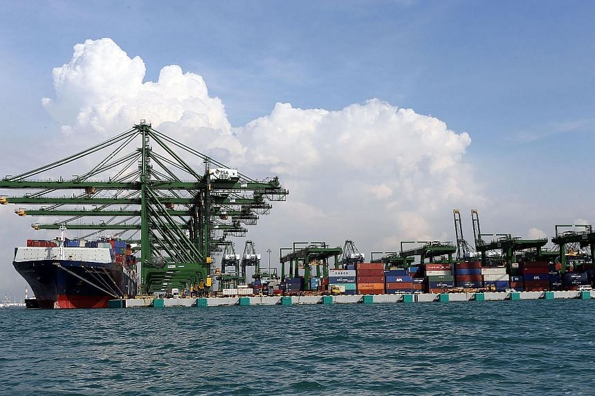 Shipments to most of Singapore's top markets, except Hong Kong and Taiwan, rose last month.