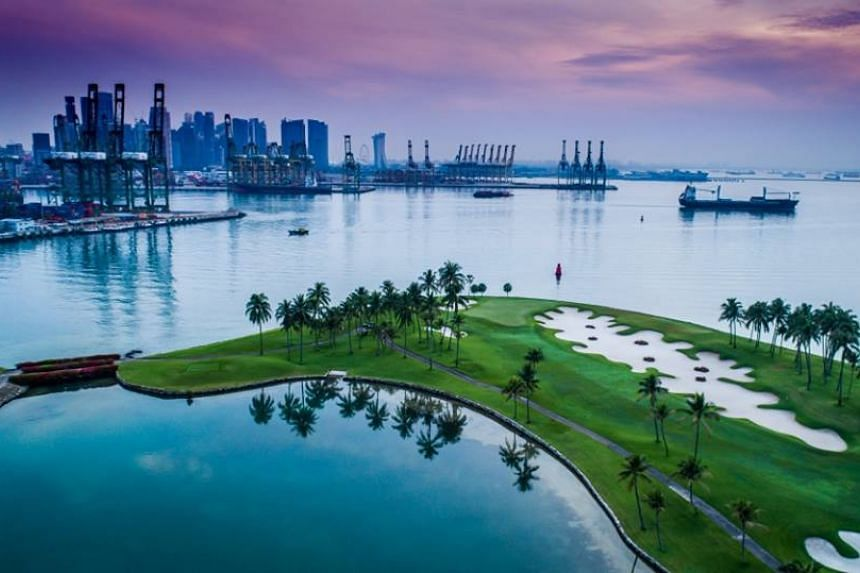 Sentosa Golf Club was given the Best Golf Course award at the Asian Tour's 2017 Awards night on Sunday (Dec 18).