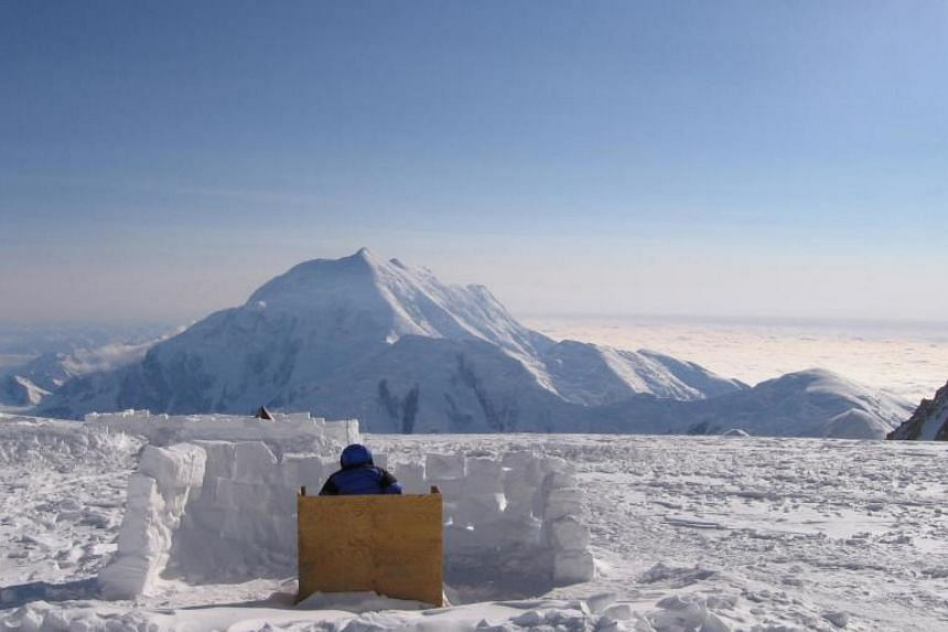 The Denali National Park in Alaska. A study showed an increase in snowfall in summer and winter.