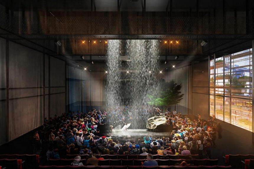 An artist's impression of the new Waterfront Theatre at the Esplanade.