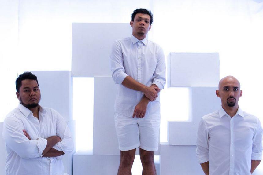 Angkat by Teater Ekamatra features (from far left) Faizal Abdullah, Farez Najid and Erwin Shah Ismail.