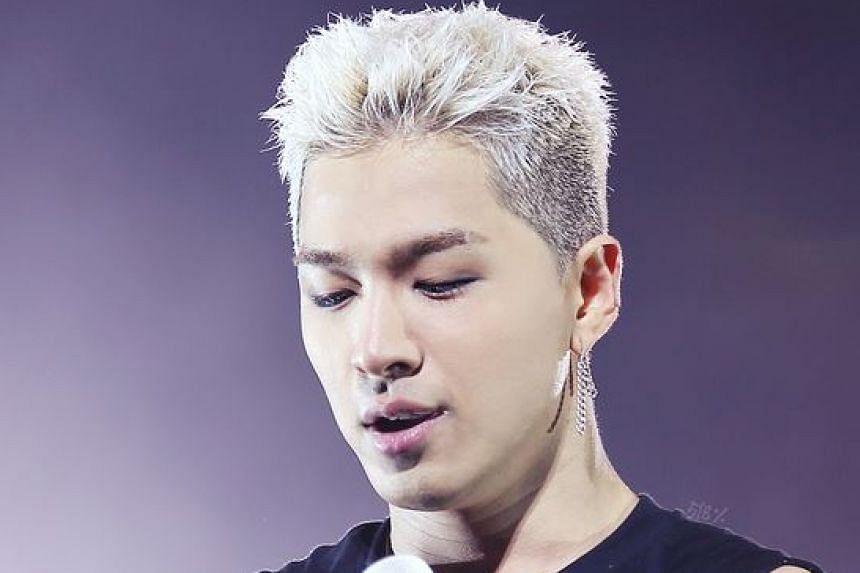 Big Bang singer Taeyang.