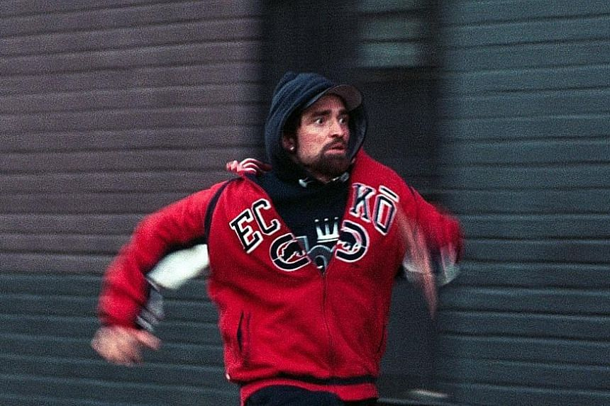 Robert Pattinson does an awful lot of running and sweating in Good Time.