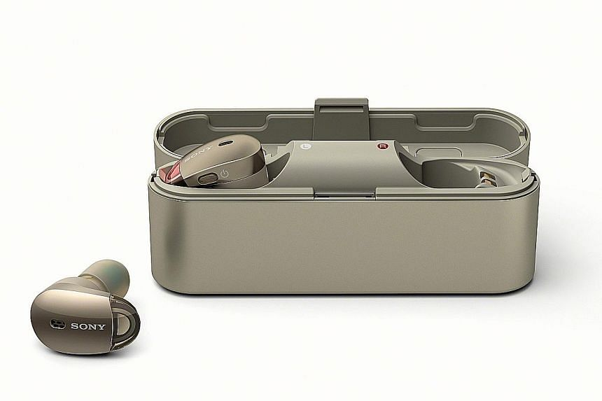 Sony's WF-1000X is among the best true wireless earphones in terms of sound quality.