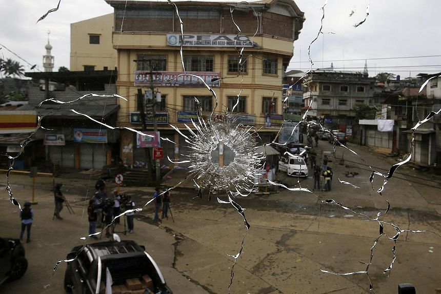 Militants held on to a fortified position inside Marawi City for five months, amid unrelenting air and land assaults by six army battalions.