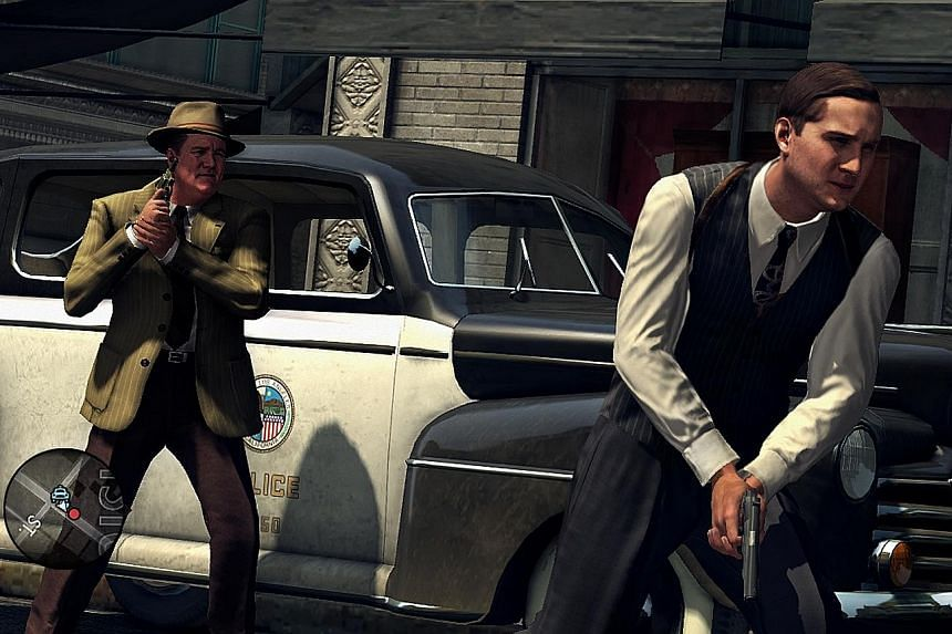 Modelled after stylish, neo-noir films, L.A. Noire remains true to its time period. You can even opt to play the game in black and white.