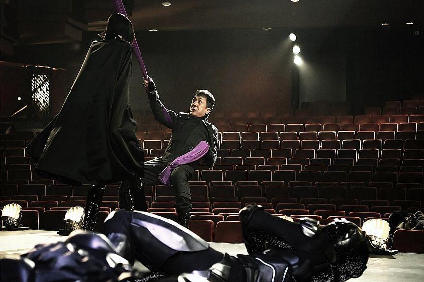 Jackie Chan in Bleeding Steel.