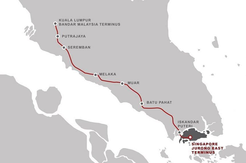 Slated to be completed by end-2026, the 350km Kuala Lumpur-Singapore HSR is expected to cut travel time between the two cities to 90 minutes.