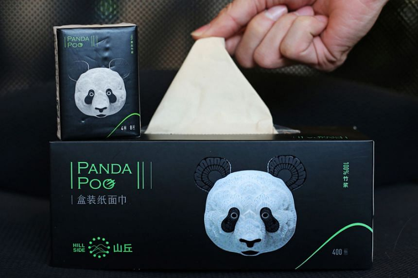 The Qianwei Fengsheng Paper Company in Sichuan province has teamed up with the China Conservation and Research Center for the Giant Panda to recycle the animal's faeces and food debris into toilet paper, napkins and other household products.