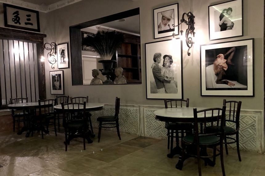 British celebrity chef Marco Pierre White places emphasis on the setting of his restaurant English House in Mohamed Sultan Road.