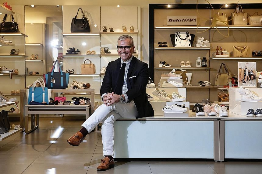 Under Mr Alexis Nasard (above), Bata has opened Asia's first AW LAB, a multi-label sneaker store with more than 200 outlets in Italy and Spain, at Suntec City last month.
