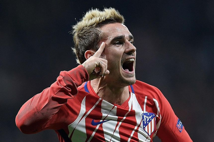 Atletico Madrid forward Antoine Griezmann has scored 90 goals in 179 games for Atletico since his 2014 move from Real Sociedad.