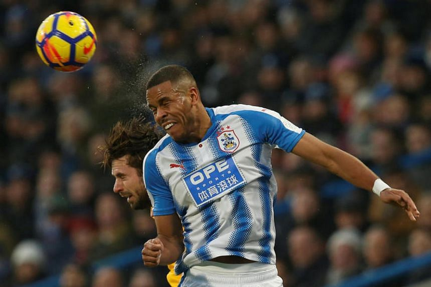 """Huddersfield defender Mathias Jorgensen said in a post on Twitter that his gesture was to thank fans for their """"amazing"""" support throughout the season."""